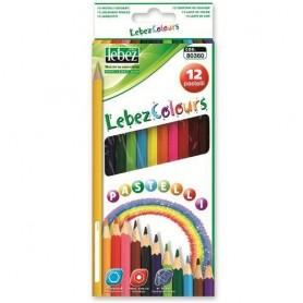 Lebez 80360 - Pastelli Personalizzabili 12 Colori