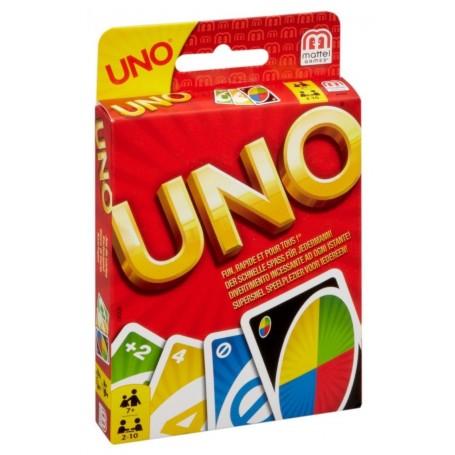 Mattel W2087 - Gioco Carte Uno