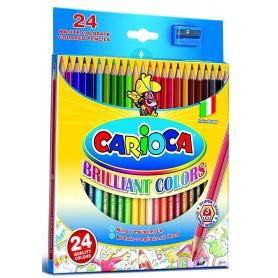 Carioca 40381 - Matite Colorate Conf.24 pz.