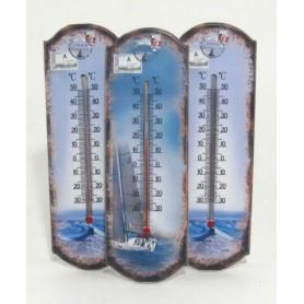 Zambiasi 50610 - Termometro Legno Serie Mare