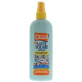 Delice 11110 - Latte Solare Spray UVA Bambini SFP 50+ 150 ml.