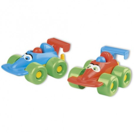 Androni 6607 - Mini Cars 54 cm Formula 1 In Rete 2 Pezzi