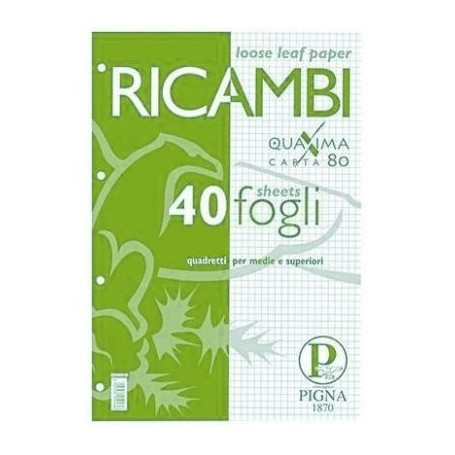 Cis 23 - Ricambi Anelli F.to A4 21x29