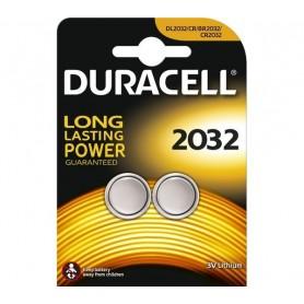 Duracell 2032 - Blister 2 Batterie Bottone CR2032 3V