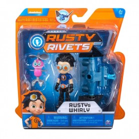 Spin Master 6033996 - Rusty Rivets - Blister Personaggi Build System