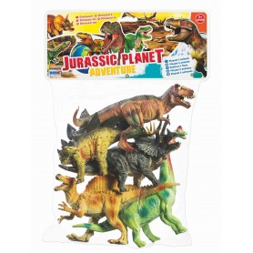 Rstoys 10498 - Busta Dinosauri 6 pz.