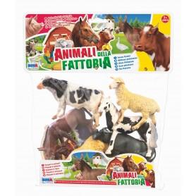 Rstoys 10516 - Busta Animali Fattoria 6 pz.