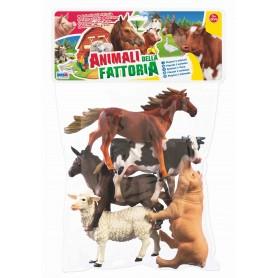 Rstoys 10524 - Busta Animali Fattoria 5 pz.