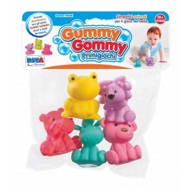 Rstoys 10556 - Busta 5 Animaletti Vinile Gummy Gummy
