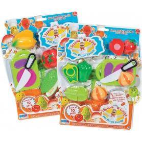 Rstoys 10583 - Blister Cucina Frutta Velcro