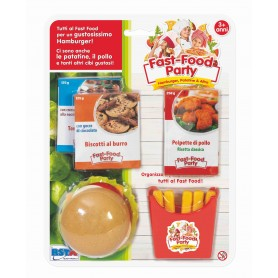 Rstoys 10607 - Blister Fast Food Party