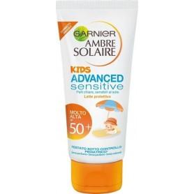 Garnier 5446700 - Latte Solare Ambre Solaire Kids SPF50 Viso e Corpo 50 ml
