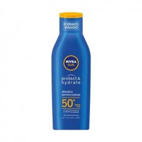 Nivea 80446 - Latte Solare Idratante FP50 Formato Viaggio 100 ml.