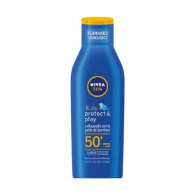 Nivea 85503 - Latte Solare Idratante Kids FP50 Formato Viaggio 100 ml.