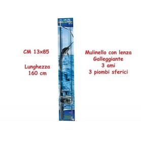 Teorema 63053 - Canna Da Pesca Con Mulinello 160 Cm