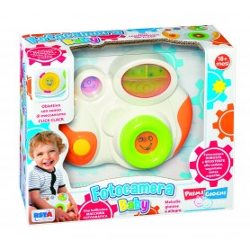 Rstoys 10697 - Baby Fotocamera Luci e Melodie