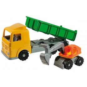 Androni 6089 - Camion con Mezzi da Lavoro 49 cm.