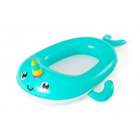 Bestway 34120 - Canottino Baby Narwhal 118 cm.