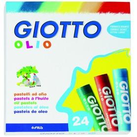 Fila 2931 - Giotto Pastelli a Olio Conf. 24 Colori