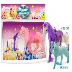 Ginmar 66403 - Busta Unicorni Floccati