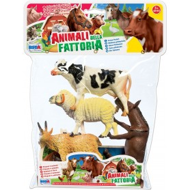 Rstoys 10499 - Busta 4 Animali della Fattoria