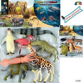 Ginmar 51029 - Busta Animali Curiosità in Natura