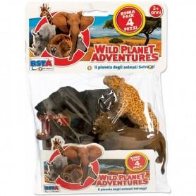 Rstoys 10039 - Busta 4 Animali Selvaggi