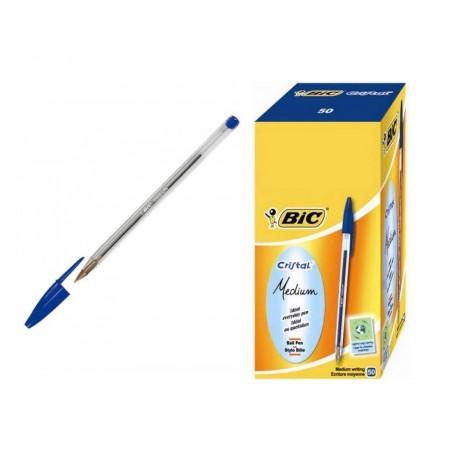 Bic 1296 - Penna Bic Cristal Blu Conf.50 pz.