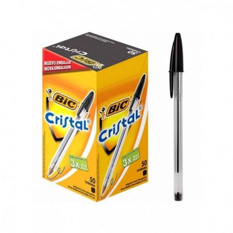 Bic 1296 - Penna Bic Cristal Nera Conf.50 pz.