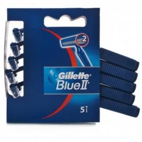 Gillette 105 - Blister 5 Lamette Da Barba Gillette Blu II