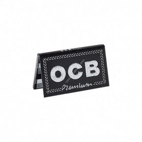 Ocb 9625 - Cartine Ocb Nere Corte Doppie