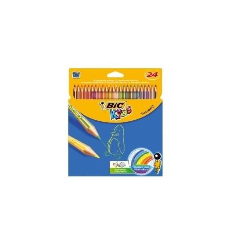 Bic 2251 - Astuccio Pastelli Tropicolors 24 pz.