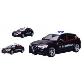 Goliath 90771 - Burago - Alfa Romeo Carabinieri Scala 1:24 Assortite