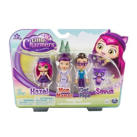 Spin Master 6028134 - Little Charmers - Set Figure Famiglia