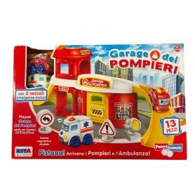 Rstoys 11003 - Primi Giochi Garage dei Pompieri