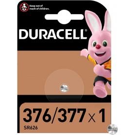 Duracell 377 - Blister 1 Batteria Pila Bottone 1,5V