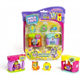 Magic Box 1165 - Moji Pops - Blister 4 Personaggi