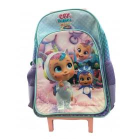 Imc Toys 80522 - Trolley Zaino Scuola Cry Babies