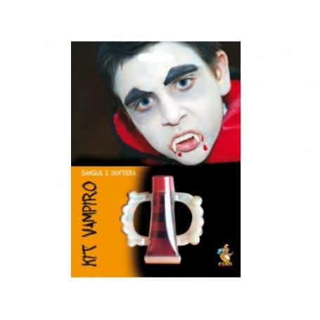 Ciao 31207 - Blister Kit Vampiro Dentiera e Sangue