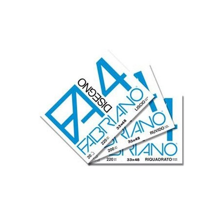 Fabriano 737 - Album Da Disegno F2 Liscio 24 x 33 cm.