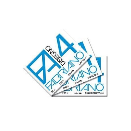 Fabriano 739 - Album Da Disegno F2 Riquadrato 24 x 33 cm.