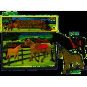 Teorema 66404 - Busta Cavalli di razza Floccati 2 Ass.