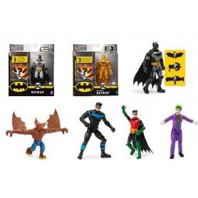 Spin Master 6055946 - Batman - Blister Personaggi 10cm Ass.