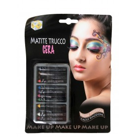 Ciao 64015 - Blister Make-up 12 Matite Trucchi
