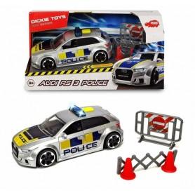 Simba 11038 - Dickie - Audi RS3 Polizia Luci e Suoni 15 cm