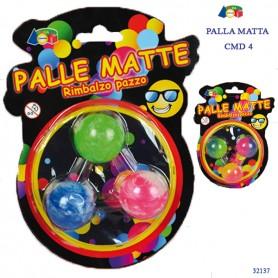 Ginmar 32137 - Blister 3 Palle Matte Multicolore