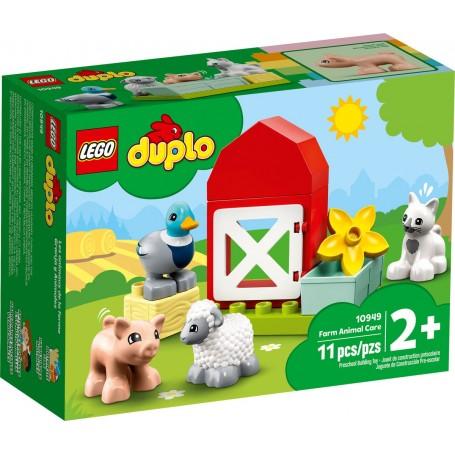 Lego 10949 - Duplo - Gli Animali della Fattoria