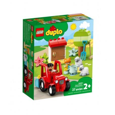 Lego 10945 - Duplo - Il Trattore della Fattoria e i Suoi Animaletti