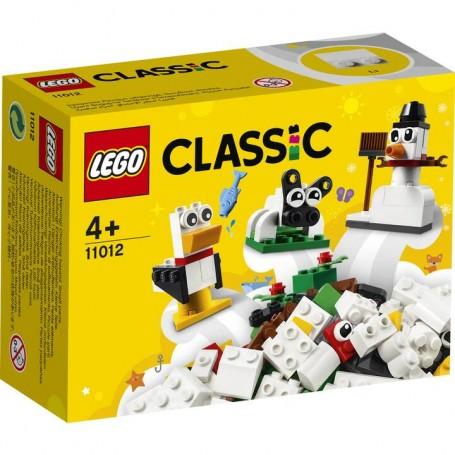 Lego 11012 - Classic - Mattoncini Bianchi Creativi