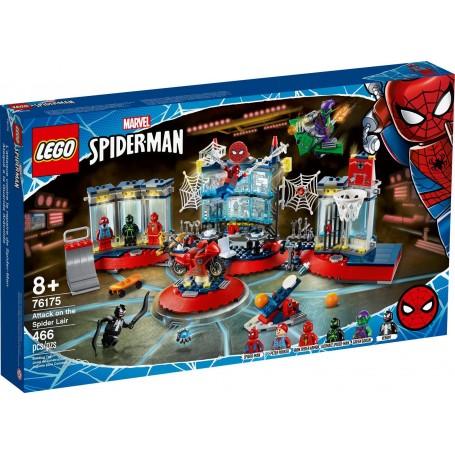 Lego 76175 - Marvel Spiderman - Attacco al Covo del Ragno